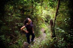 I dag skal vi på eventyr i Virachey National Park, som byder på både jungle og græslandskaber, og som er hjem for en bred vifte af sjældne og truede dyrearter. Hold øjnene åbne – her kan du spotte gibbonaber, aber, bukke, træleoparder, elefanter og fuglearter.  Vi mødes med en park-ranger, der tager os med på et trek, der både fører os op- og nedad, og samtidig giver os en masse fantastiske panorama udsigter undervejs.  Under trekket kommer vi gennem bambus skove samt almindelige skove med gigantiske træer. Efter de første 2 timers trekking, ankommer vi til en smukt vandfald, der måler ca. 40 meter i højden. Her gør vi stop og spiser frokost.  Vi fortsætter længere ind i skoven, hvor rangeren fortæller os om de forskellige plantearter – herunder dem man kan spise, anvende til medicin samt dem der er giftige.  Rundt 15:00 – 16:00 ankommer vi til Kachock stammens landsby. Her går vi en rundtur i landsbyen, inden vi hopper ombord på en båd, der tager os til Kachon-landsbyen. Herfra bliver vi kørt tilbage til Ban Lung.