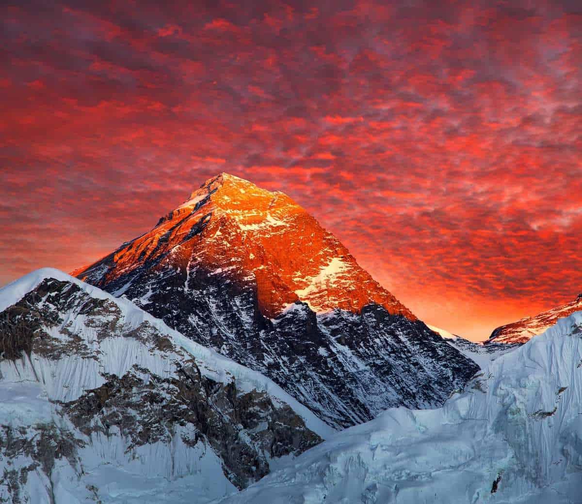 Mount Everest uden trekking