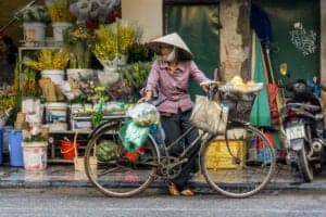 Velkommen til Vietnam.   Vi modtager vores bagage og blive mødt af vores engelsktalende lokalguide i ankomsthallen. Herefter bliver vi kørt til hotellet.   Efter ankomst til hotellet er der tid til at slappe af og komme sig efter flyturen. Har du lyst til at starte eventyret samme dag som du ankommer, kan du komme med på en tur ud i Hanois gamle kvarter, hvor et bredt udvalg af streetfood venter dig.  Vi starter ved Bia Hoi, hvor vi smager på den lokalbryggede øl. Her nyder vi øllen og mærker det pulserende, lokale byliv.   Vi fortsætter turen gennem smalle gader, hvor vores lokalguide peger nogle af de bedste streetfoodsteder og -retter ud, heriblandt nudler, brød og forskellige snacks.   Om aftenen er stedet pakket med lokale, der sidder på stole langs gaderne med kogende gryder og sydende woks omkring sig. Ta' plads og nyd et godt måltid, inden vi afslutter turen med en dessert i byens bedste isbod.   Vil du hellere tilbringe ankomstdagen på hotellet, kan du også det.