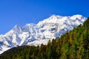 I dag står vi igen tidligt op og starter dagen med en times yoga med udsigt til snebeklædte tinder. Efter vi har spist morgenmad, har du tid til at slappe af og nyde Pothanas smukke omgivelser og udsigter. Efter frokost tager vi ud på turens sidste trek, som går nedad gennem skove og landsbyer til Kande, hvorfra vi bliver kørt tilbage til Pokhara. Her kan du tage et langt varmt bad og ellers bruge resten af dagen på at slappe af og tage på sightseeing eller shopping i Pokhara.