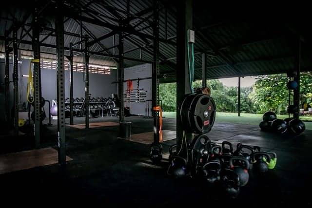 """""""Fugleburet"""" indeholder alt udstyr til X Fit-klasser. Opbyg funktionelle muskler med et WOD pas (""""workout of the day"""") og styrk corestabiliteten."""