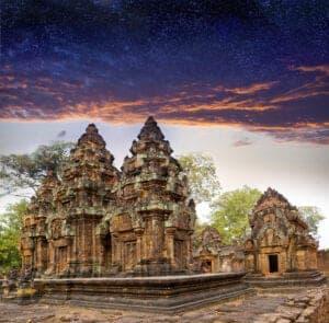 I dag tager du tilbage til Siem Reap for at tage flyet hjem eller videre.