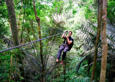 Med gibbonaberne som naboer: Laos & The Gibbon Experience
