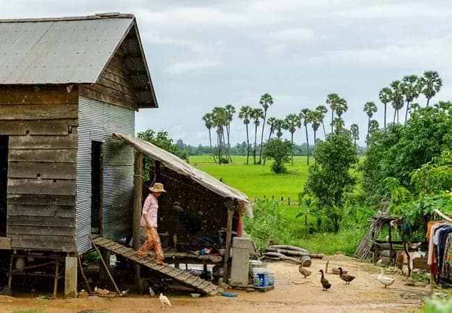 Frivilligt arbejde i Cambodia