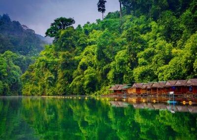 Thailand: Khao Sok National Park & badeferie i Khao Lak