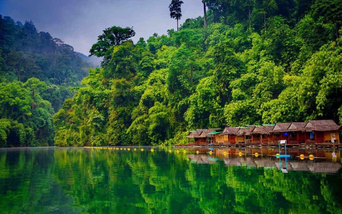 Khao Sok National Park & badeferie i Khao Lak