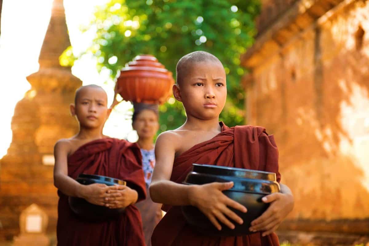 Unge-munke-Myanmar