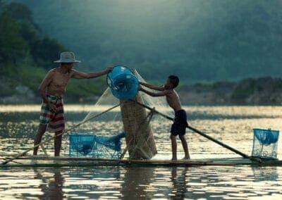 Rejse til Laos og Cambodia: Livet uden for turismen