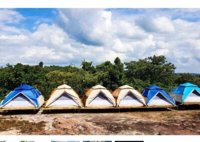 Telt lejr, Kulen