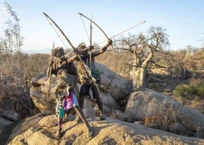 Hadza folket og safari i Tanzania