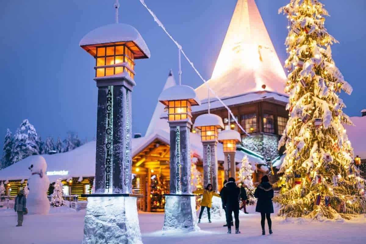 Juleeventyr i Santa Claus Village, Finland