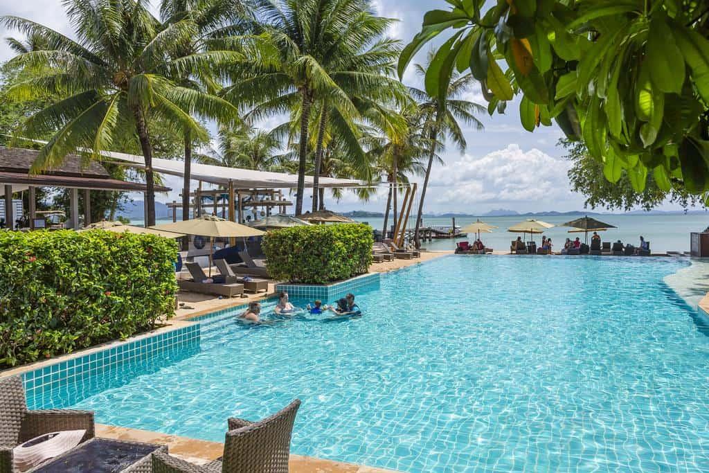 Elefanter og badeferie på Coconut Island