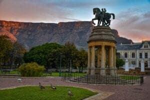 Rejse til Cape Town